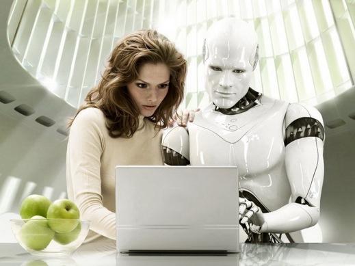 humas and robots